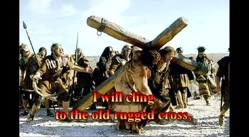 Gospel Harmonica*Hymn The Old Rugged Cross with lyrics.
