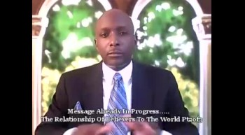 The Relationship Of Believers To The World Pt. 2 of 3