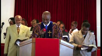 Scripture Reading by; Rev. Anthony A. K. Hodge, Sr.