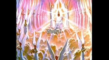 """Gospel Harmonica """"Worthy Is The Lamb"""" with lyrics."""