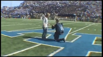Air Force Cadet Parachutes Down to Surprise Girlfriend with Proposal!