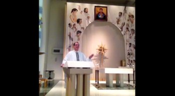 Mann's Wedding Homily
