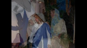 Scenes from Palm Sunday and Easter Dramas