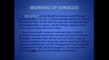 Proof ~ The Miraculous Gifts of the Holy Spirit are for all Believers Today