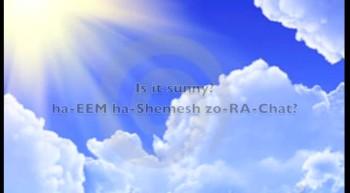 Hebrew Language Weather Tutorial