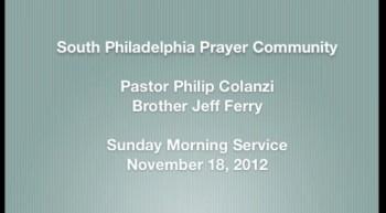 SPPC Sunday Morning Service - 11/18/12