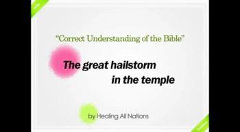 [Shinchonji-LeeManHee] The great hailstorm in the temple