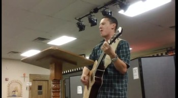 Pastor Michiels at Crossfire