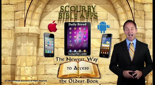 Scourby Audio Bible APP,,, Genesis Let There be Light