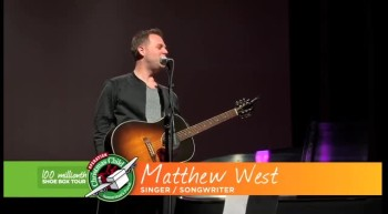 100 Millionth Shoe Box Tour - Evilyn's Adventure - Matthew West