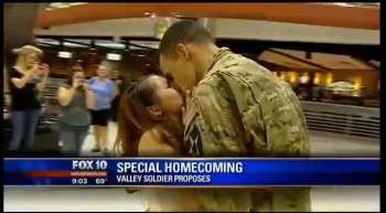This Soldier Proposes to His Girlfriend in the Most Unique and Heartwarming Way - A Must See!!