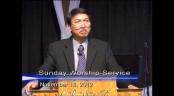 Pastor Preaching - November 18, 2012