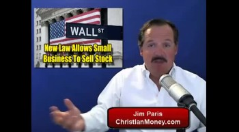 New Law To Allow Small Business To Sell Stock (James L. Paris)