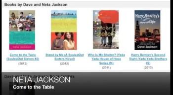 Neta Jackson COME TO THE TABLE