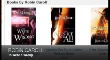 Robin Caroll TO WRITE A WRONG