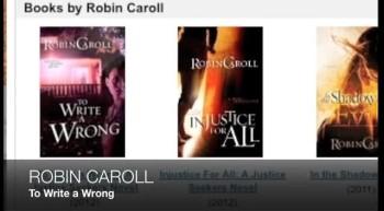 Robin Caroll TO WRITE A WRONG
