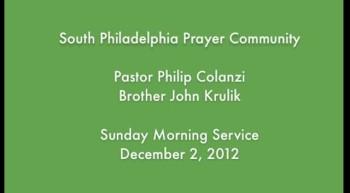 SPPC Sunday Morning Service - 12/2/12