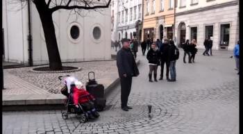 Adorable Toddler Takes The Spotlight From His Singing Grandpa - So Cute!
