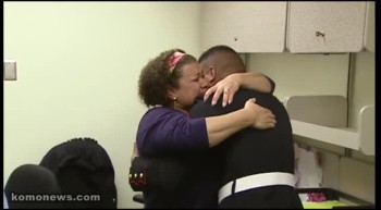Marine Gives His Mom the BEST Surprise for Christmas