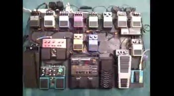 Tour of my pedal board.