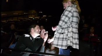 This Wasn't Just a Night at the Movies for One Lucky Girl - Awesome Surprise!