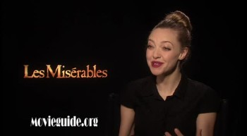 LES MISERABLES - Amanda Seyfried interview