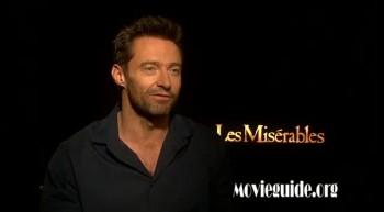 LES MISERABLES - Hugh Jackman interview