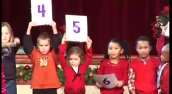 Adorable Kid's Christmas Performance Takes a Hysterical Turn