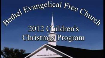 Children's Christmas Program - 12/16/2012