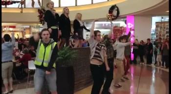 A Fun New Christmas Mall Flash Mob