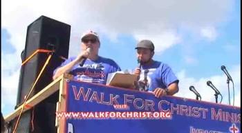 Walk For Christ Hollywood, Fl 2012