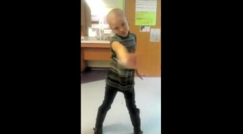 Brave 7 Year-Old Dances Through Difficulties of Cancer - Inspiring!
