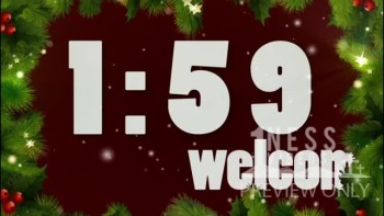 Christmas Frame Church Countdown Video