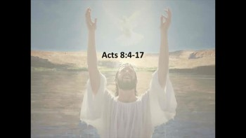 Jesus' Baptism - January 13, 2013