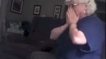 First-Time Grandmother's Priceless Reaction to the Pregnancy Announcement