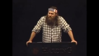 Duck Dynasty's Willie Preaching