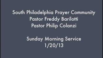 SPPC Sunday Morning Service - 1/20/13