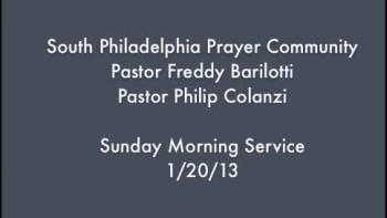 SPPC Sunday Morning Service - 1/20/13