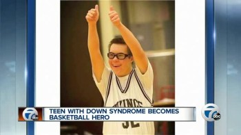 Teen With Down Syndrome Becomes Basketball Hero!