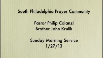 SPPC Sunday Morning Service - 1/27/13