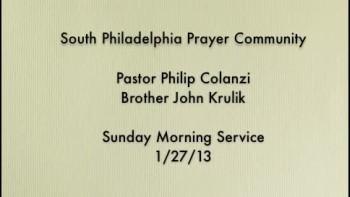SPPC Sunday Morning Service - 1/27/13