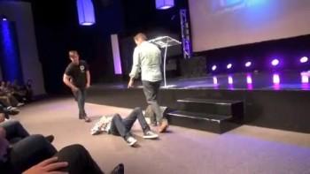 Pastor has painful damaged neck healed