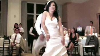 Bride and Groom Give Their Guests an EPIC Surprise