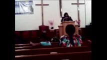 Apostle Penny Montgomery Preaching at Reedemed Christian Ministries