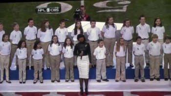 Jennifer Hudson and Sandy Hook Survivors Sing Moving Performance of America the Beautiful