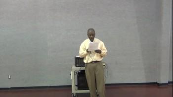 Spiritual Growth Bible Class - Lesson 1 - January 13, 2013