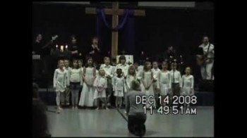 Christ UMC Children's Choir Christmas 2008 - Offering