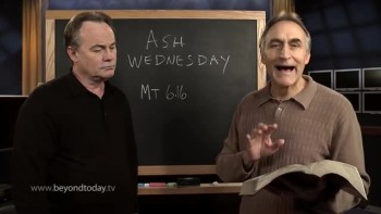 BT Daily -- What's wrong with Ash Wednesday?