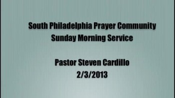 SPPC Sunday Morning Service - 2/3/13