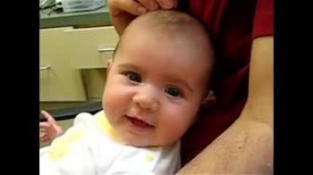 A Deaf Baby Hears Daddy For the First Time